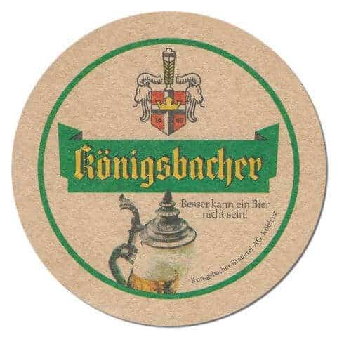Konigsbacher Beer Mat