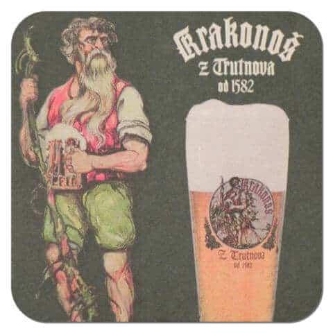 Krakonos Beer Mat