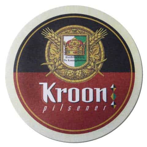 Kroon Pilsner Beer Mat