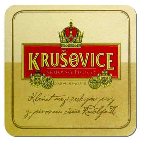 Krusovice Beer Mat