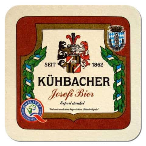 Kuhbacher Beer Mat