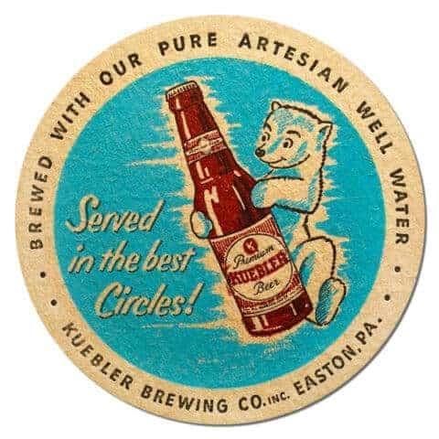 Kuebler Beer Mat