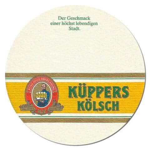 Kuppers Kolsch Beer Mat