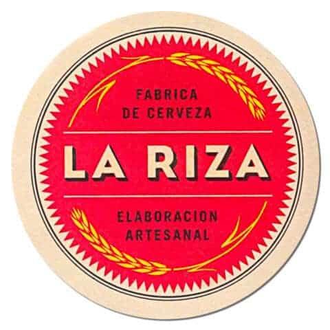 La Riza Beer Mat