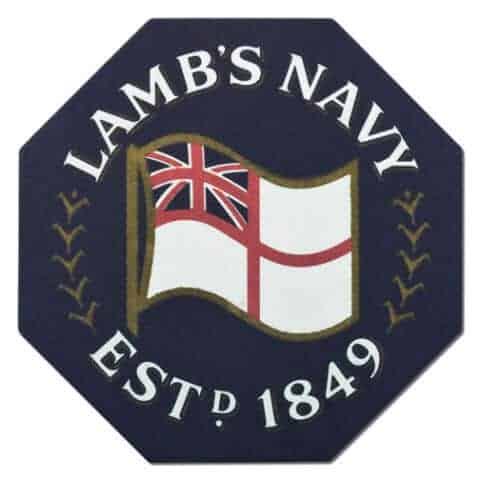Lambs Navy Rum Coaster