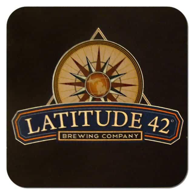 Latitude 42 Beer Mat
