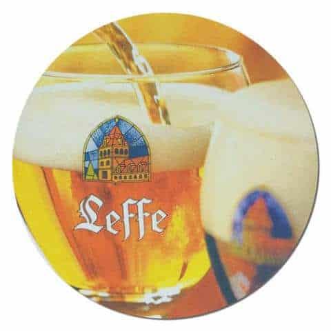 Leffe Beer Mat Front