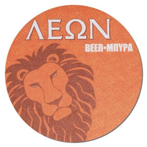 Leon Beer Drip Mat