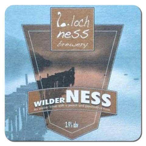 Loch Ness Brewery Beer Mat