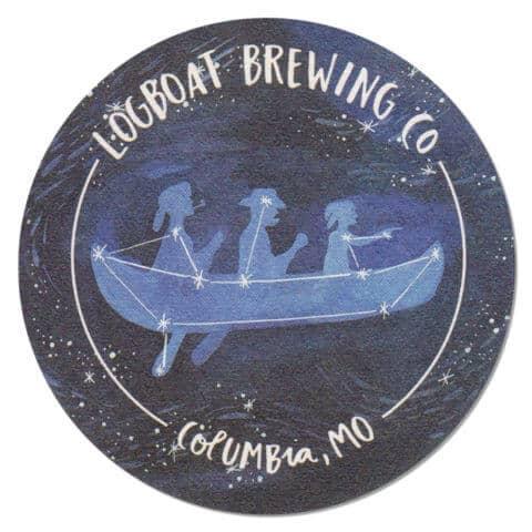 Logboat Brewing Beer Mat