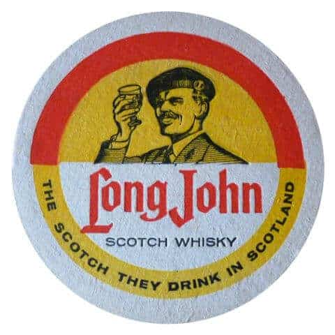 Long John Scotch Whisky Coaster Front