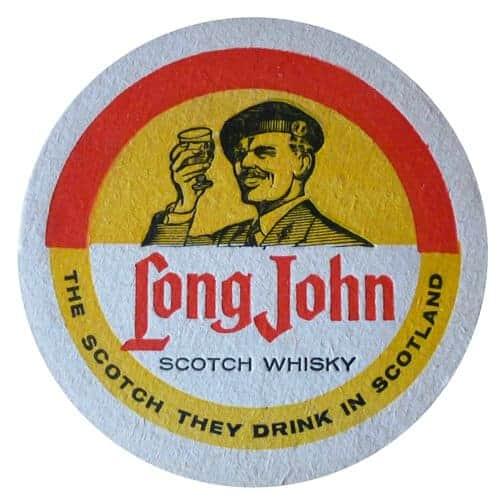 Long John Scotch Whisky Coaster Front