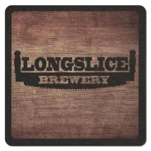 Longslice Brewery Beer Mat