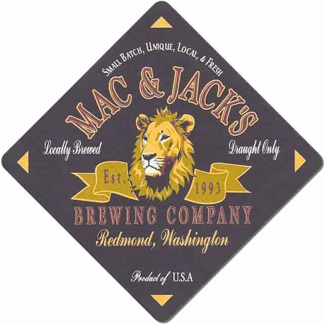 Mac and Jacks Brewing Company Beer Mat