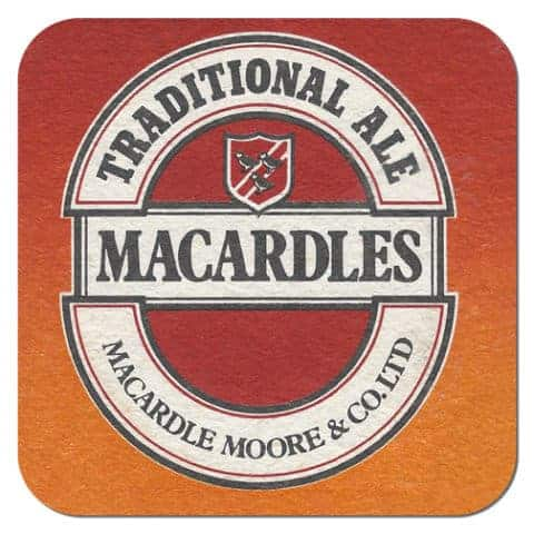 Macardles Beer Mat