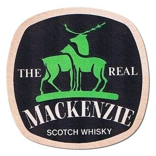 Mackenzie Scotch Whisky Coaster