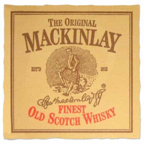 Mackinlay Scotch Whisky Coaster
