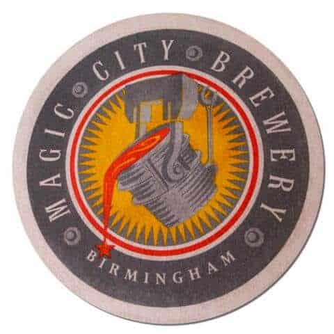 Magic City Brewery Beer Mat