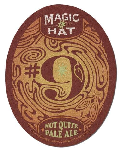Magic Hat Beer Mat Front