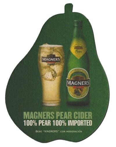 Magners Pear Cider Coaster