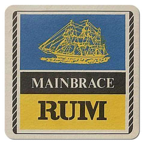Mainbrace Rum Coaster