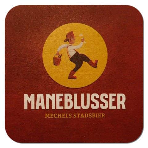 Maneblusser Beer Mat