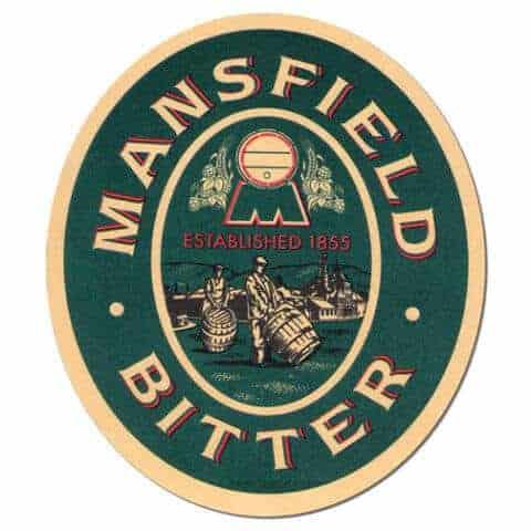 Mansfield Bitter Beer Mat Front