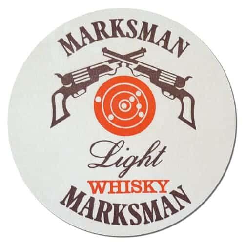 Marksman Light Whisky Coaster