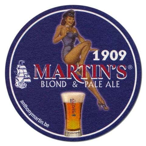 Martins Blond Ale Beer Mat