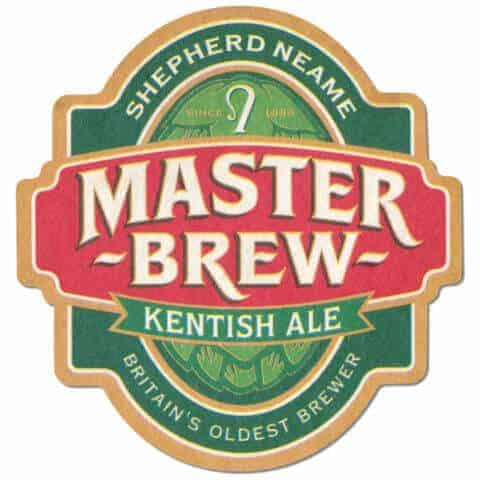 Shepherd Neame - Master Brew Kentish Ale Beer Mat