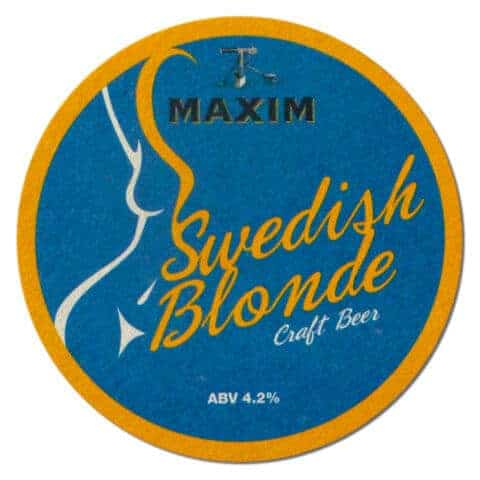 Maxim Swedish Blonde Beer Mat