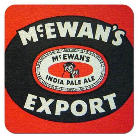 McEwans Export Beer Mat