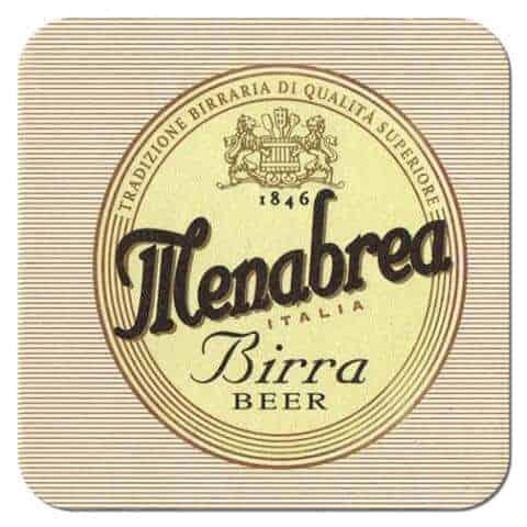 Menabrea Beer Mat