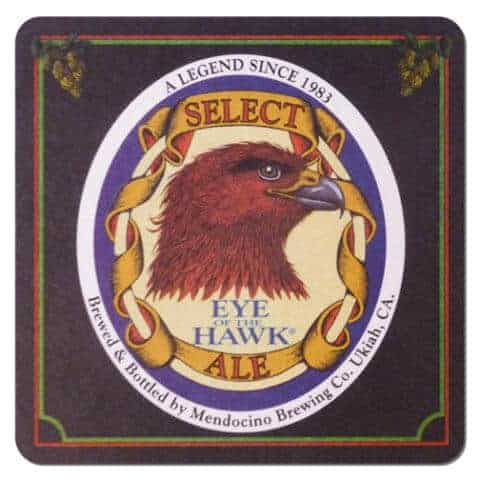 Mendocino Brewing - Eye of the Hawk Beer Mat
