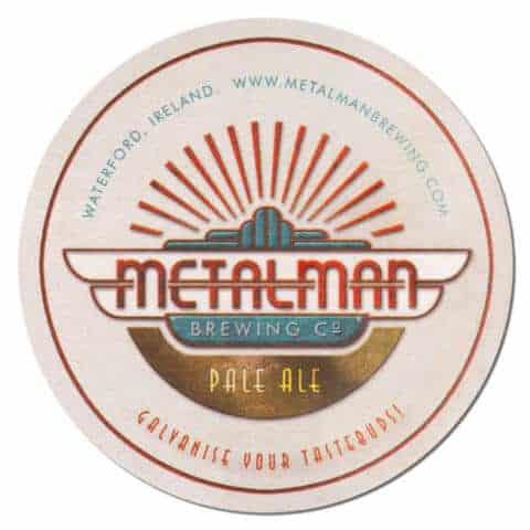 Metalman Brewing Beer Mat