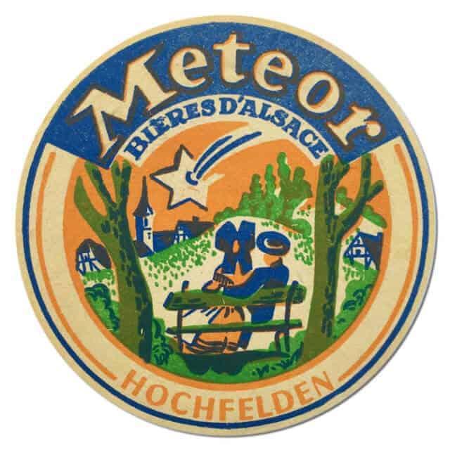 Meteor Beer Mat