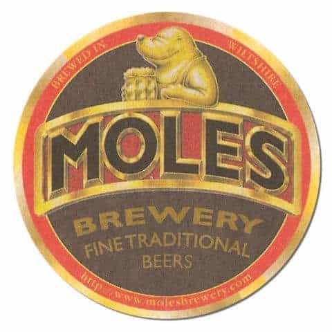 Moles Brewery Beer Mat