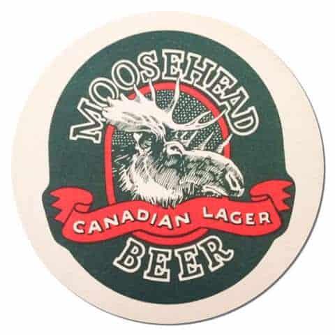 Moosehead Beer Mat Front