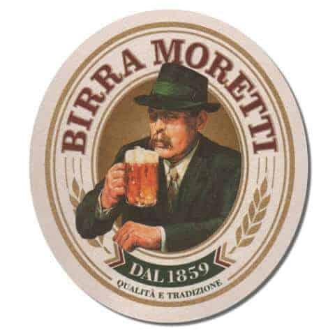 Birra Moretti Beer Mat