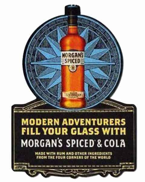 Morgans Spiced Coaster Front