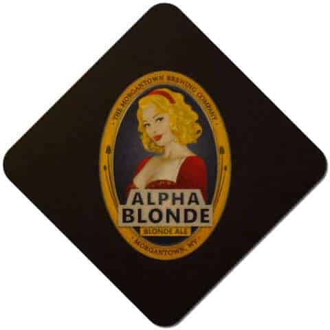 Morgantown Brewing - Alpha Blonde Beer Mat