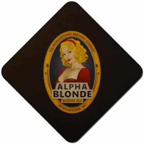 Morgantown Brewing - Alpha Blonde Beer Mat