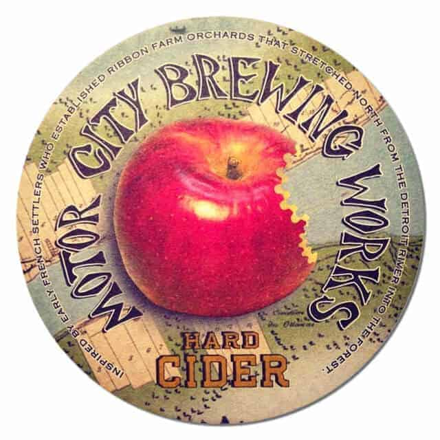 Motor City Brewing Works Beer Mat