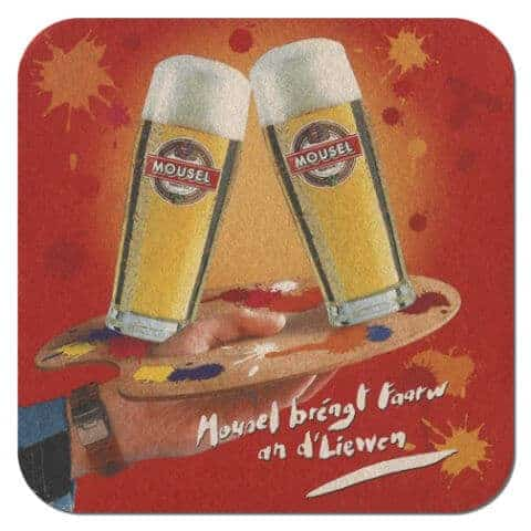 Mousel Beer Mat
