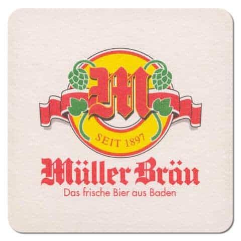 Muller Brau Beer Mat