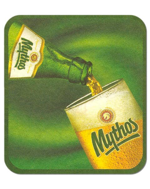 Mythos Beer Mat