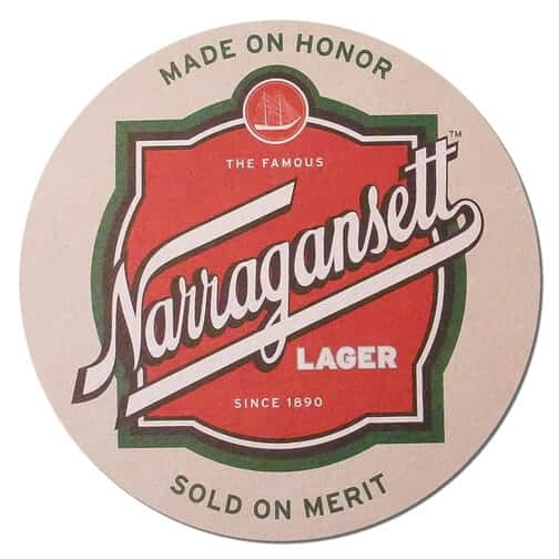 Narragansett Beer Mat