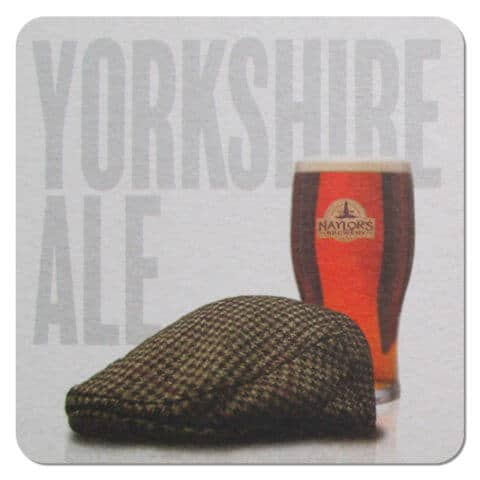 Naylors Brewery - Yorkshire Ale Beer Mat