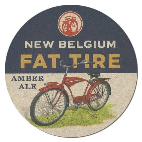 New Belgium Fat Tire Beer Mat
