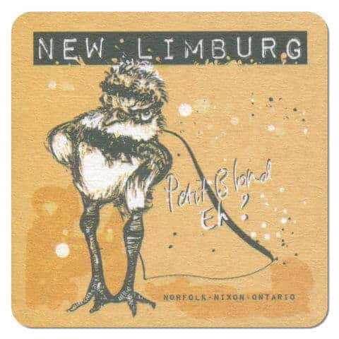 New Limburg Petit Blond Beer Mat